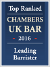 Chambers UK Bar 2016 Top Ranked